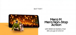 The Samsung Galaxy M02 will have a 5,000 mAh battery