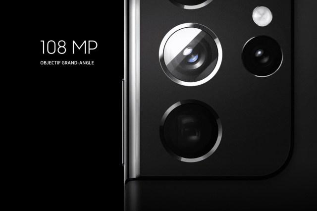 S21 Ultra appareil photo 108 MP