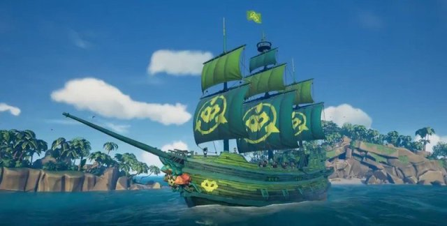 Battletoads Sea Of Thieves Livery