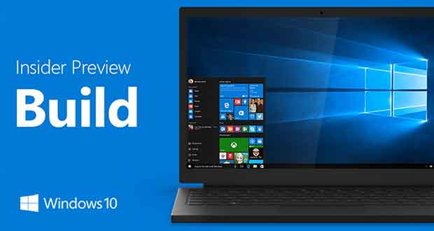 Windows 10 - Insider Preview Build