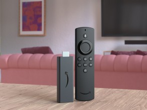 Amazon Fire TV Stick (left) and Fire TV Stick Lite (right)