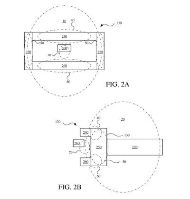 headset patent design
