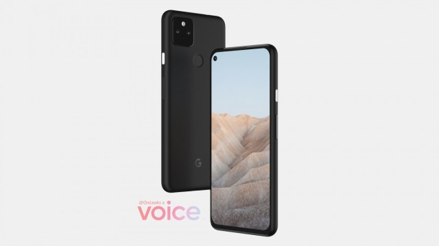 Google Pixel 5a leak shows a familiar design