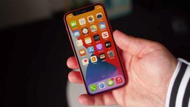 iphone 12 mini front