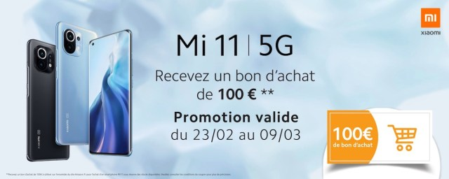 Xiaomi Mi 11 Offre Amazon