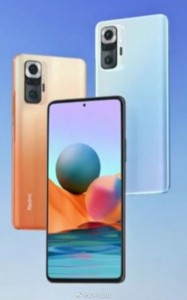Redmi Note 10 Pro: official render