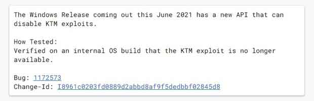 "Date de sortie de Windows 10 21H1 - Post ""Chromium"" de Microsoft"