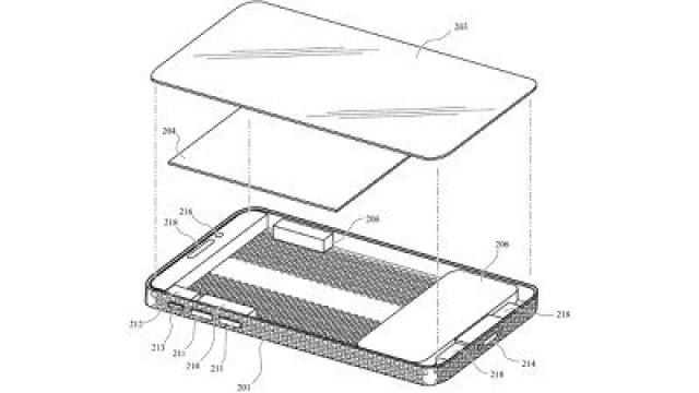 iphone lattice pattern patent disassembly