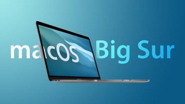 macOS Big Sur Feature Blue