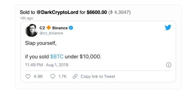 Le tweet le plus cher