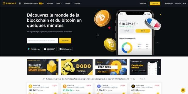 Acheter du Bitcoin sur Binance