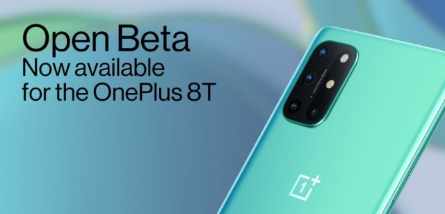 OnePlus 8T gets its first Open Beta build