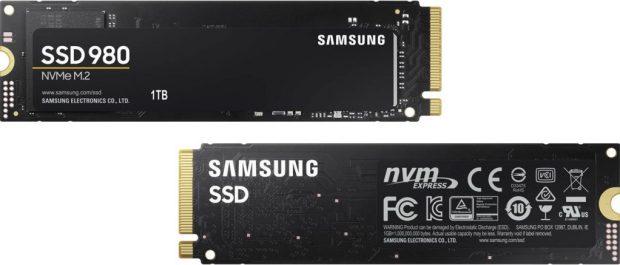 SSD 980 NVMe M.2 de Samsung