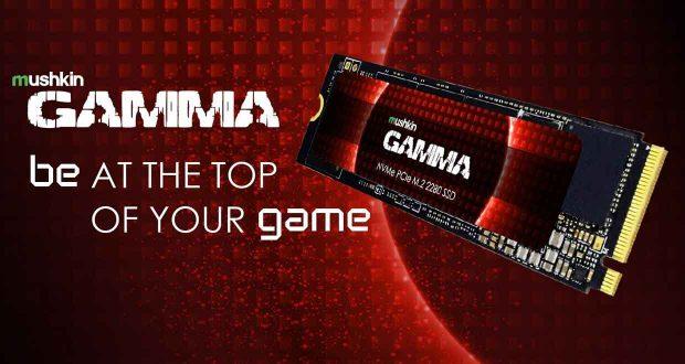 SSD NVMe M.2 2280 Gamma de Mushkin