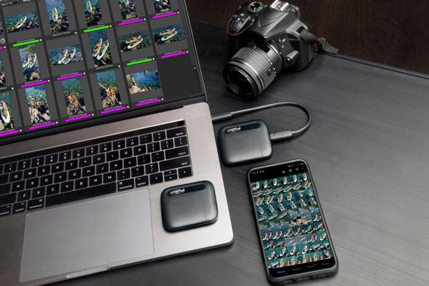 SSD X6 Portable de Crucial
