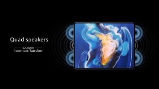 Quad speakers by Harman Kardon
