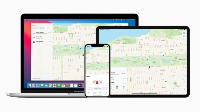 Apple améliore son application Localiser pour inclure les appareils tiers