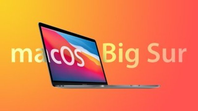 macOS Big Sur Feature Orange