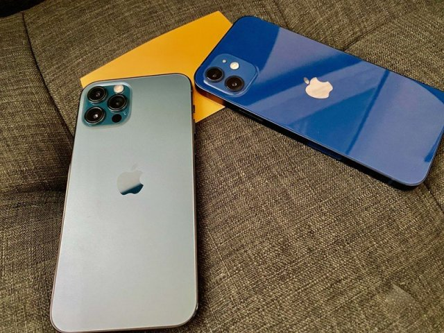 iPhone 12 Blue Iphone 12 Pro Pacific Blue