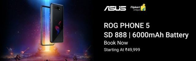 Asus ROG Phone 5 arrives for pre-order in India in all flavors