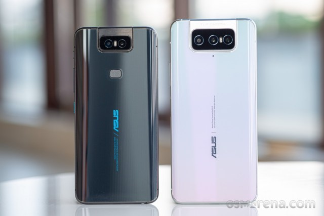 Asus Zenfone 6 and 7 Pro