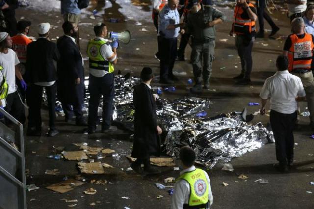 Des dizaines de personnes ont été tuées à Méron, Israël, où des dizaines de milliers de personnes étaient rassemblées pour la fête de Lag Baomer le 29avril.