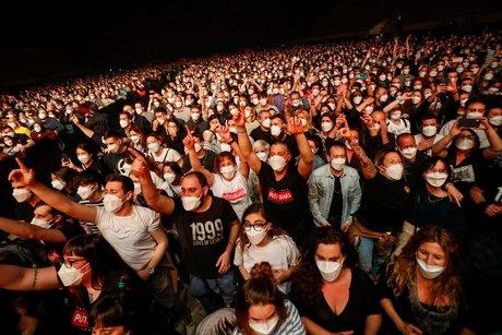 Coronavirus: un concert de 5.000 personnes organise a barcelone