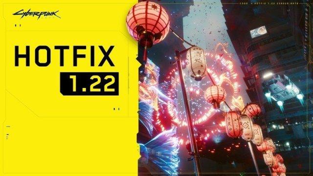 Cyberpunk 2077 1.22 Update
