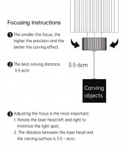 Laser focusing process - DAJA DJ6 laser engraver review