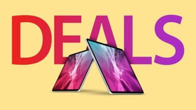 iPad Pro Deals Feature Yellow