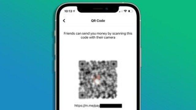 facebook pay qr codes