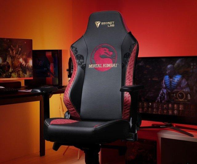 Secretlab Mortal Kombat Chair Crop