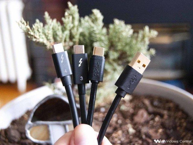 Thunderbolt 4 vs. Thunderbolt 3 vs. USB4 vs. USB 3