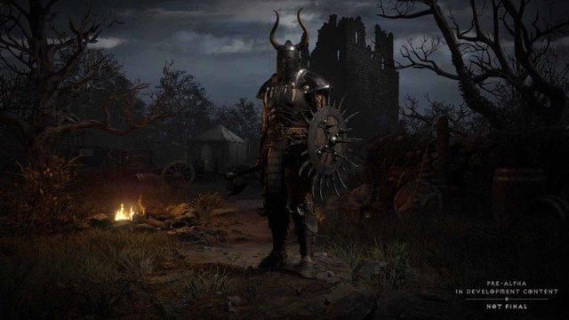 Diablo 2 Resurrected Character Select