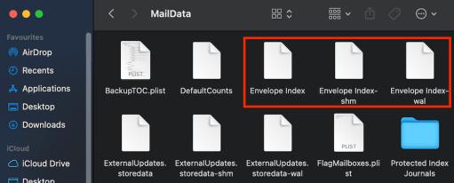 envelope index apple mail maildata