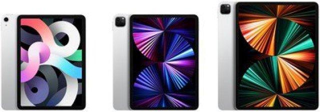 ipad air ipad pro display sizes