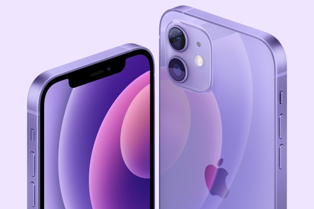 Apple iPhone 12 Coloris violet