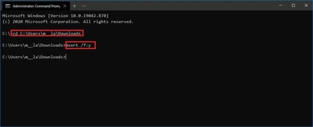 Microsoft Safety Scanner Command