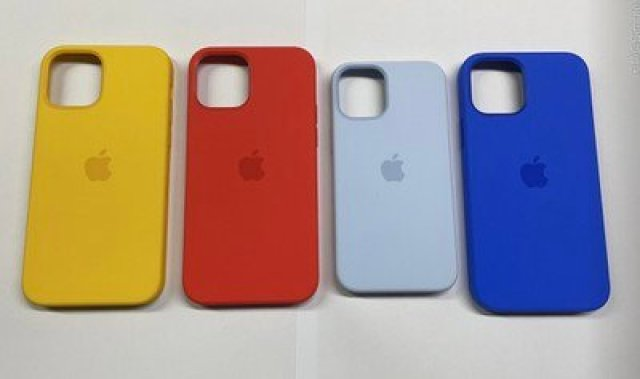 iphone 12 cases spring colors leak 2