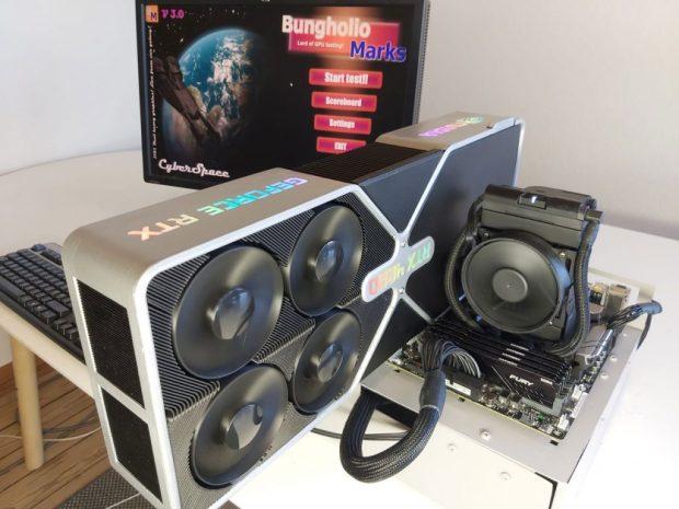 GeForce RTX 4090 de Nvidia (Edition PA 2021)