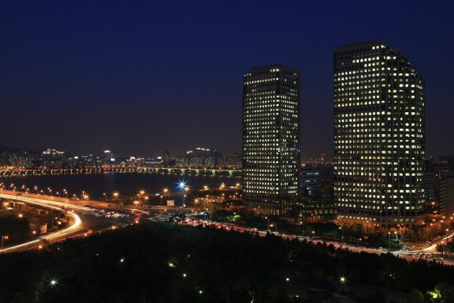 LG Twin Towers HQ in Seoul, South Korea