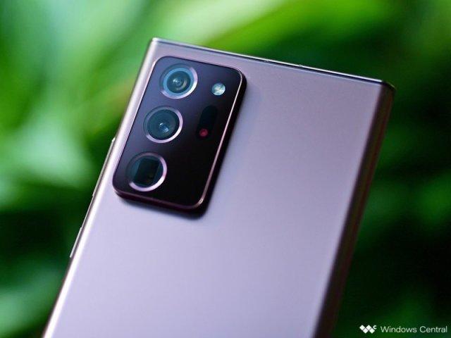 Samsung Galaxy Note 20 Ultra Rear Camera