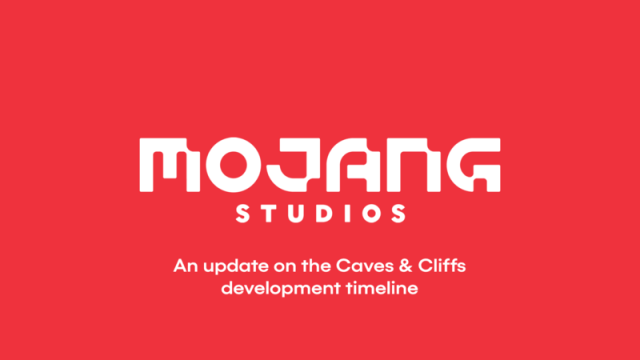 Minecraft Caves And Cliffs Update Delay Announcement