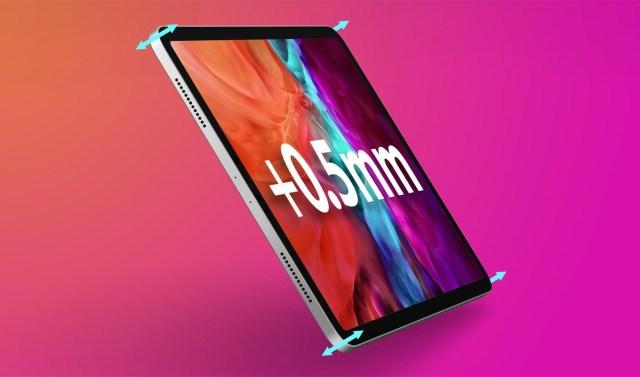 iPad Pro 2021 épaisseur