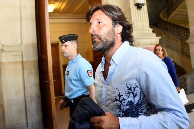 Arnaud Mimran au tribunal de Paris, en juillet 2016.