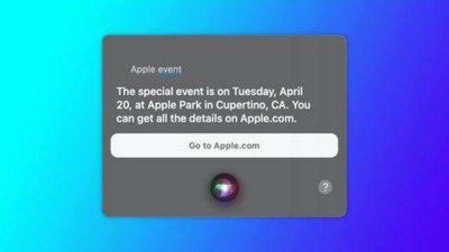 siir apple event april 20