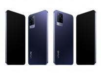 vivo V21 (and V21 5G) in Dusk Blue