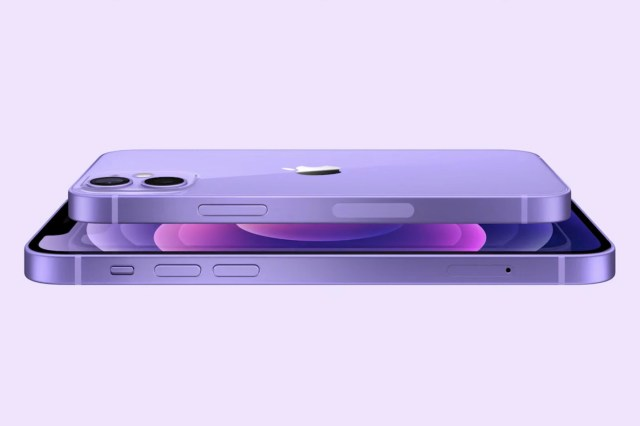 Apple iPhone 12 violet