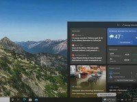 Windows 10 2004, 20H2, and 21H1 will get 'news and interests' feature