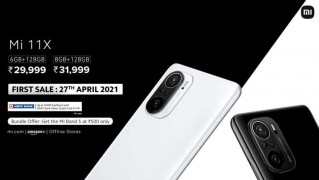 Xiaomi Mi 11X series pricing and availability
